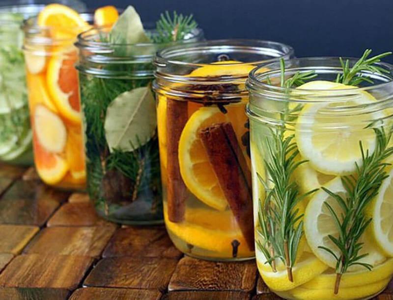 Освежитель воздуха своими руками: из цветов, цитрусов, соли, эфирных масел и других средств