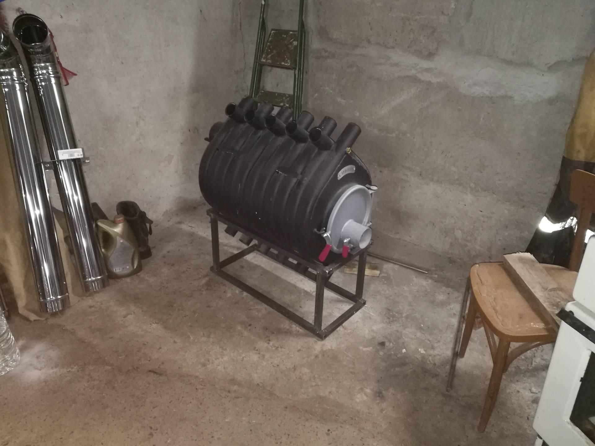 Самое экономное отопление гаража