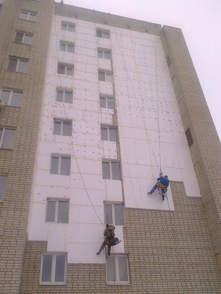 Мокрый фасад под ключ — цена за м2 в москве | компания строй-континент