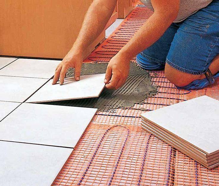 Как укладывать теплый пол под плитку, видео уроки по укладке и советы экспертов по монтажу
