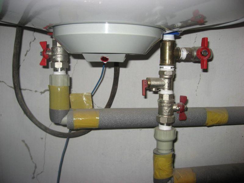 Как слить воду из водонагревателя для консервации системы водоснабжения
