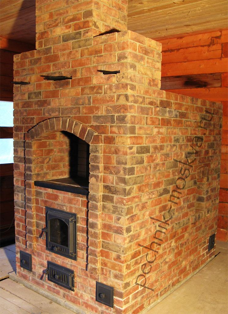 Русская печка в интерьере – неповторимый дизайн современного дома