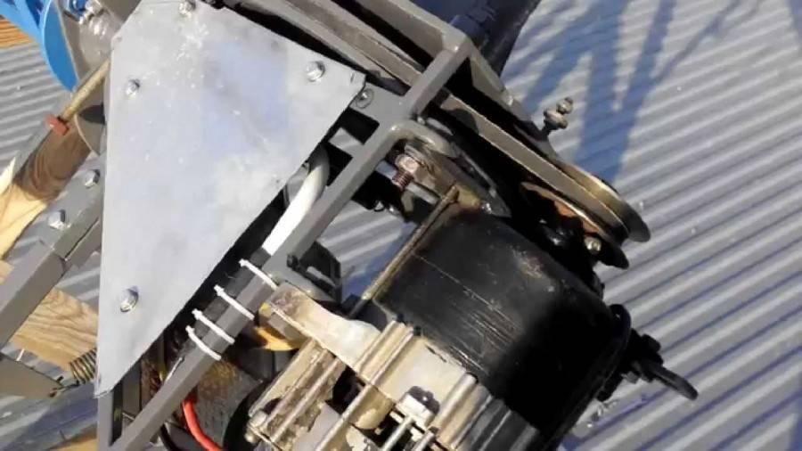 Ветряк из автомобильного генератора своими руками