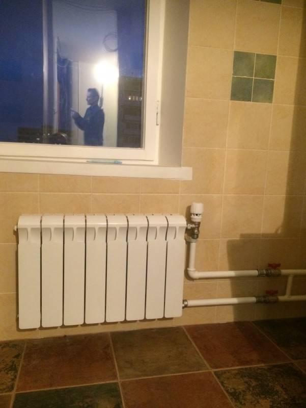Замена батарей отопления в квартире своими руками   строй советы