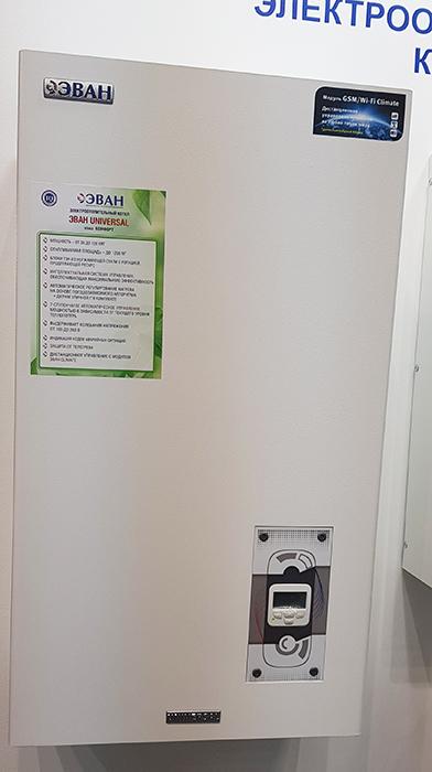 Обзор электрических котлов отопления эван, серии стандарт и комфорт