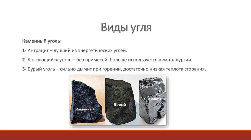 Температура горения угля. виды угля. удельная теплота сгорания каменного угля
