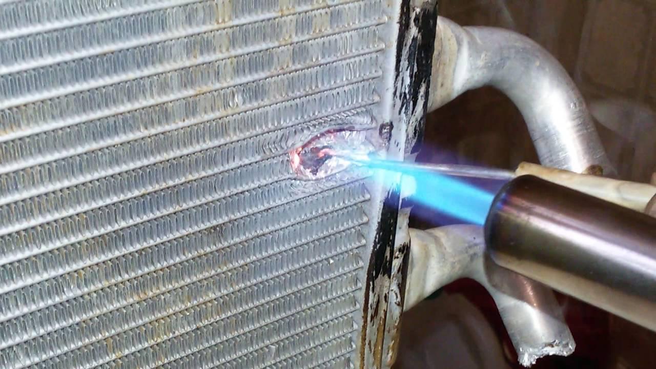 Пайка радиаторов охлаждения: автомобильных алюминиевых и медных, выбор паяльника. как паять латунный радиатор своими руками?