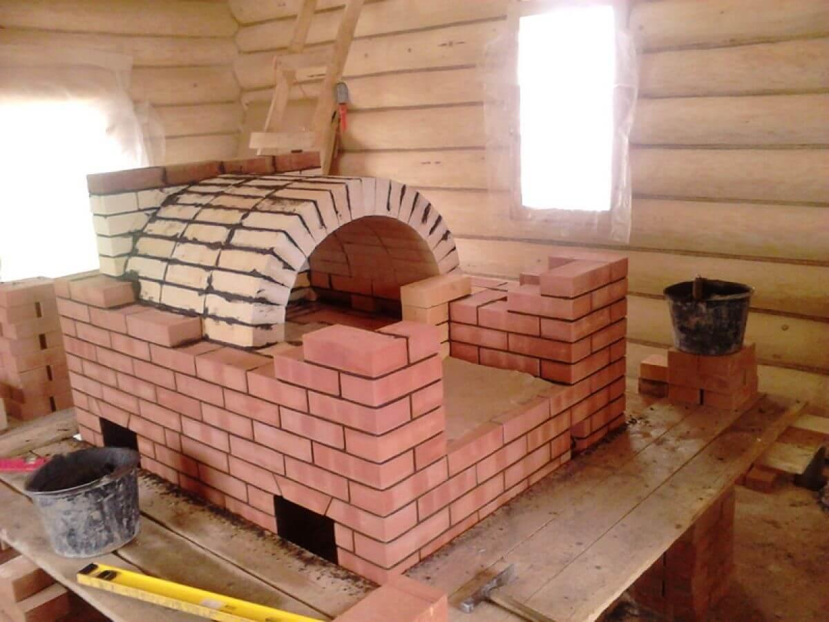 Дизайн кухни с печкой (31 фото): оформление интерьера с кухонной русской печью в частном деревянном доме в деревне, особенности и советы