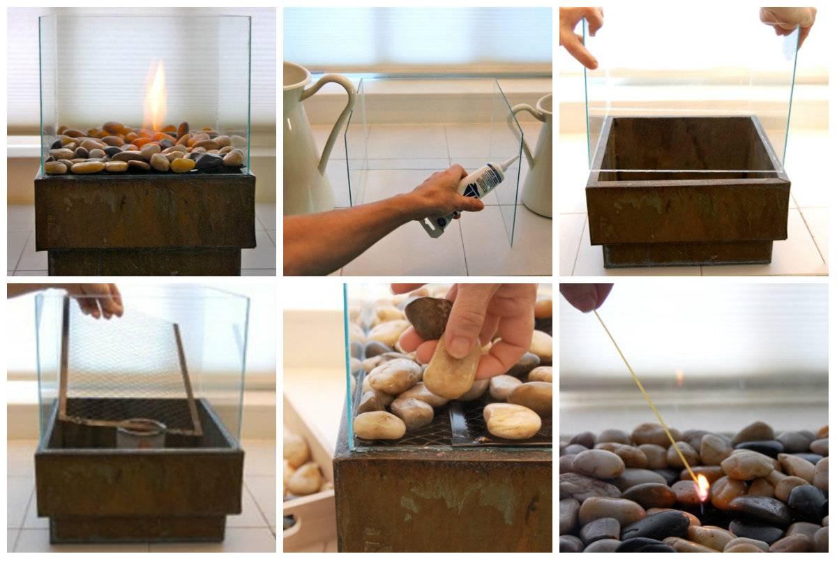 Как сделать биокамины для квартиры своими руками