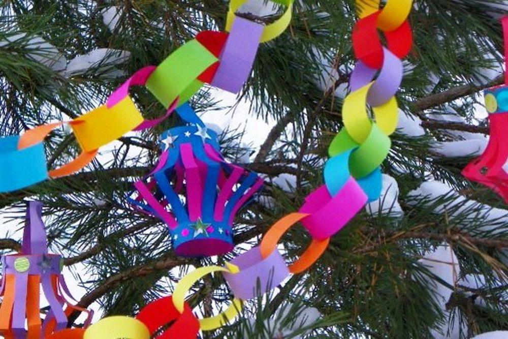 Создание новогодних украшений своими руками