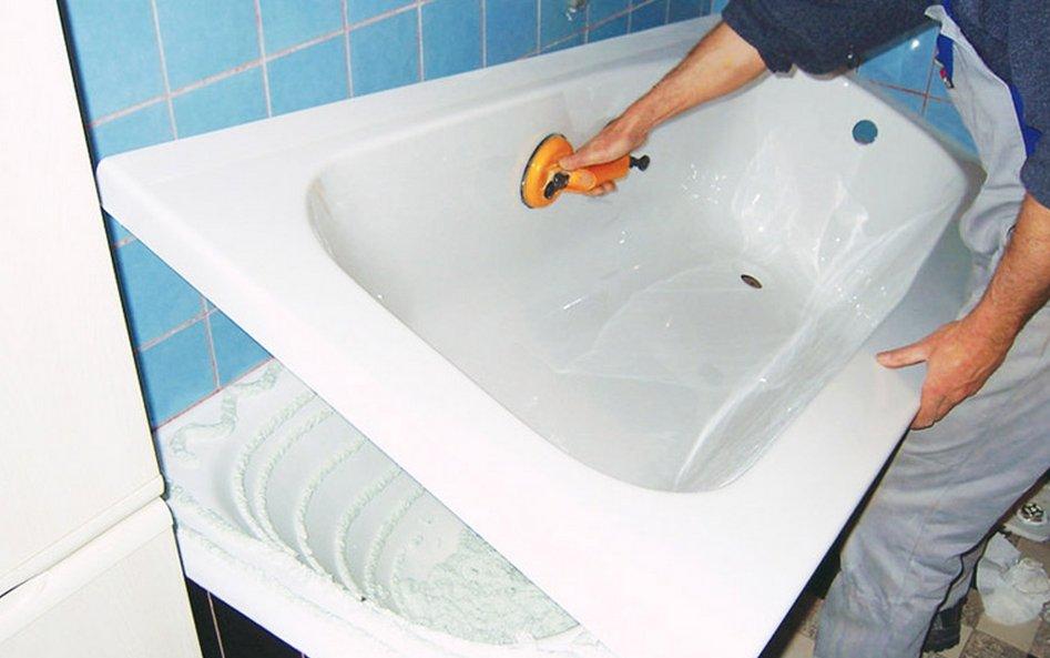 Реставрация металлической ванны. полезные советы и выбор материалов