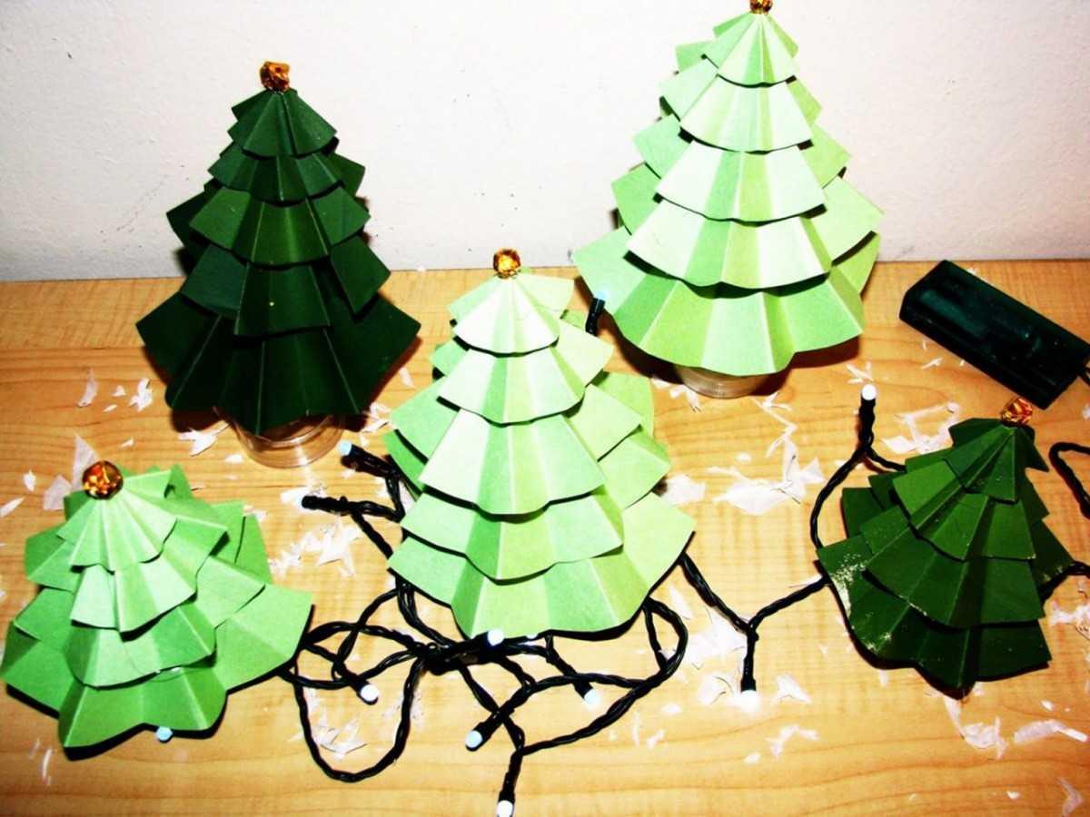 Как сделать елочку: 100 фото-идей как и из чего можно изготовить декоративную елку