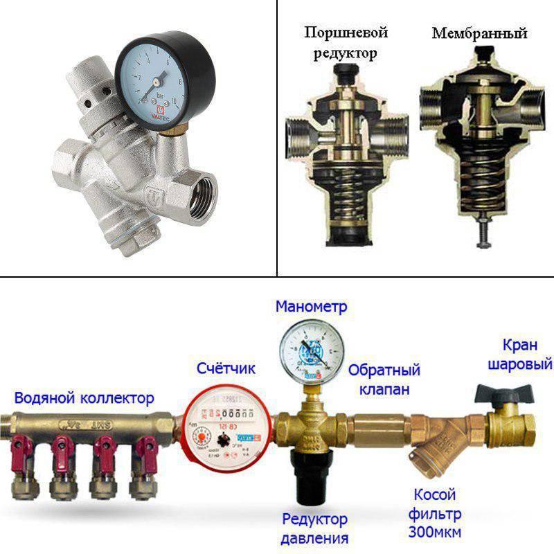 Редуктор давления воды: какой лучше выбрать в квартиру и частный дом, рейтинг моделей на рынке