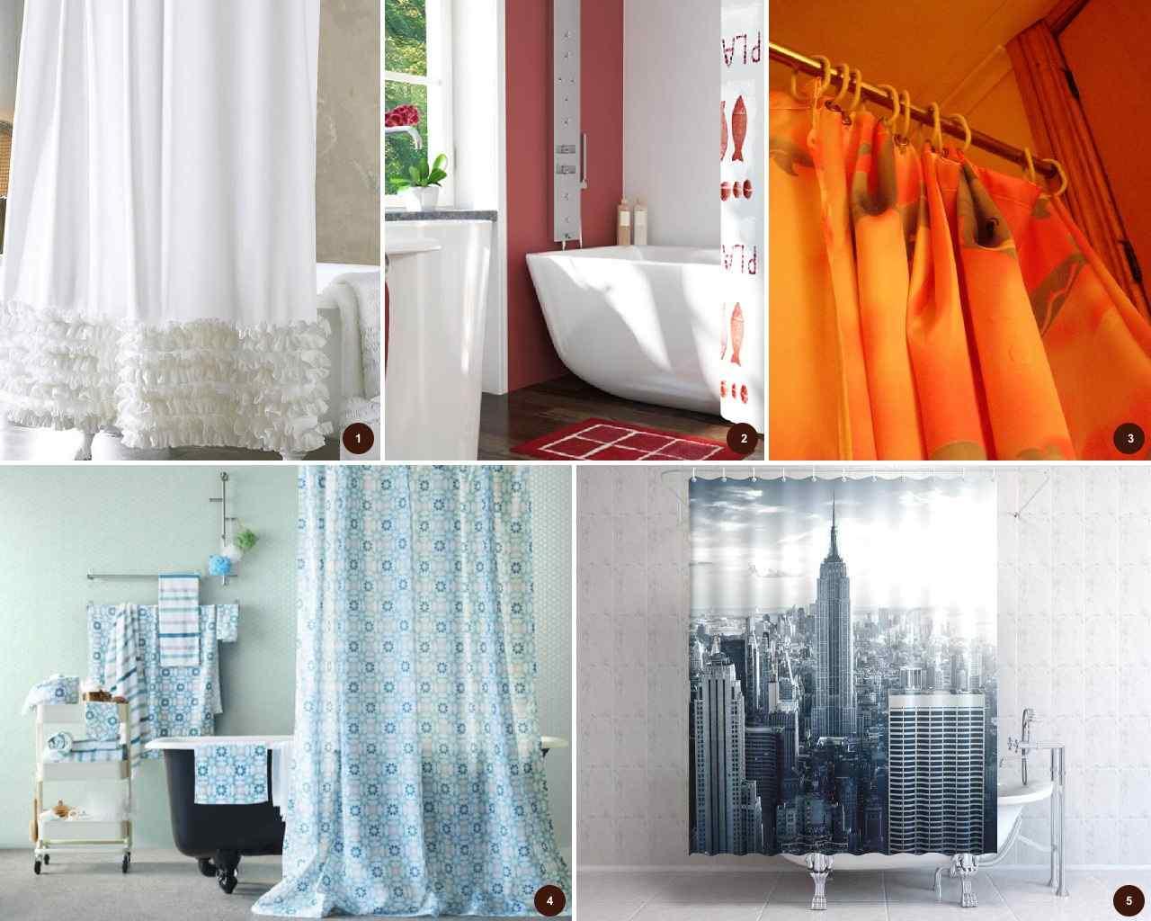 Как выбрать шторку для ванной?