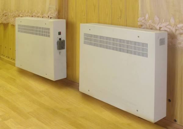 Электрообогреватели парокапельного типа