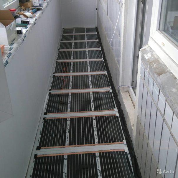 Тёплый пол на балконе под ламинат: как выбрать правильный вариант