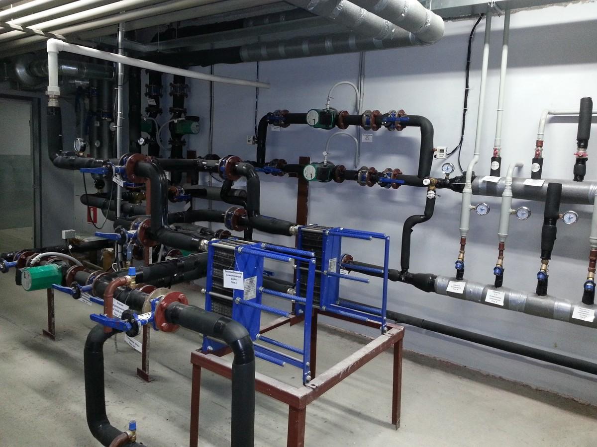Техника безопасности при эксплуатации тепловых энергоустановок