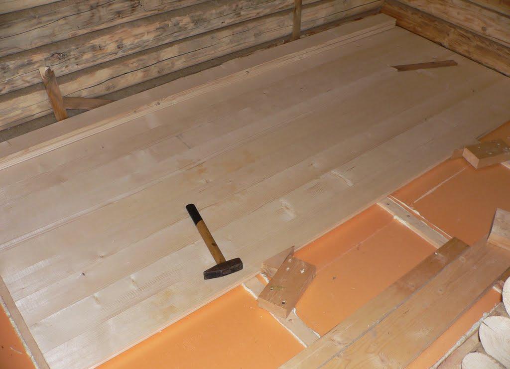 Утепление пола в деревянном доме «пеноплексом»: свойства и преимущества материала