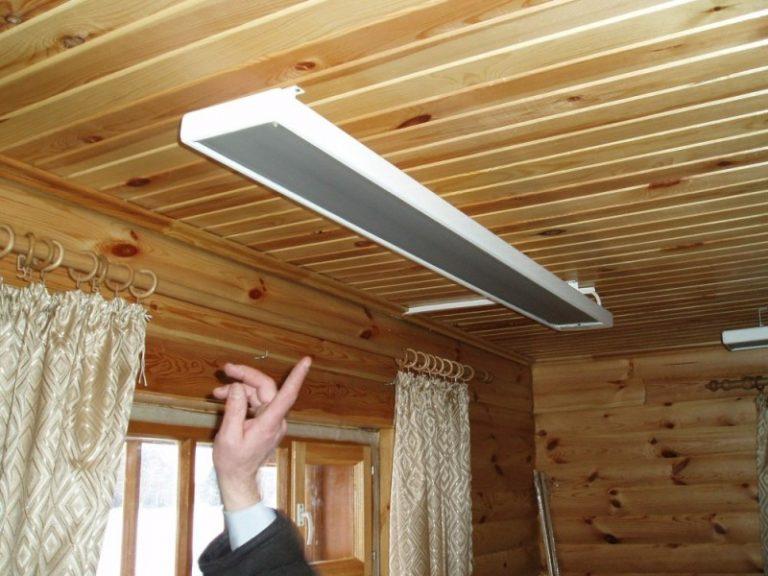 Инфракрасный потолочный обогреватель иколайн от компании эколайн: устройство и преимущества использования