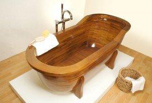 Деревянная ванная | современные варианты дизайна и лучшие сочетания интерьера