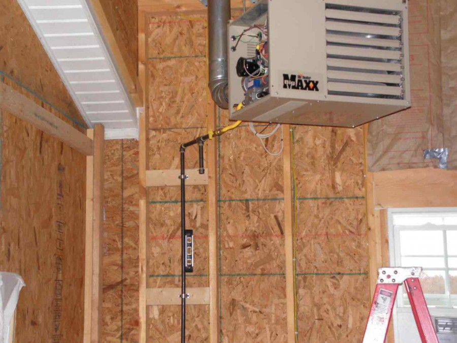Экономное отопление гаража своими руками — как снизить теплопотери и чем лучше отапливаться