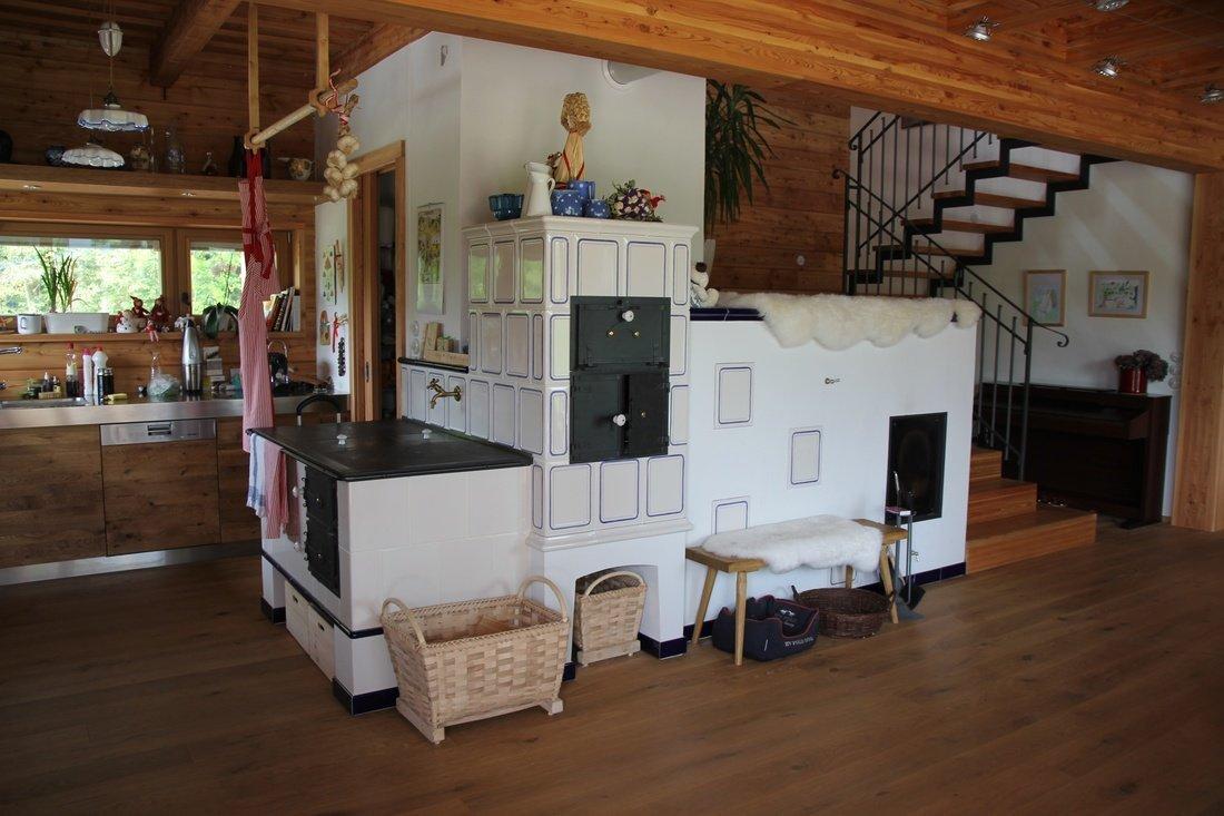 Русская печь в интерьере современного загородного дома – дачные дела