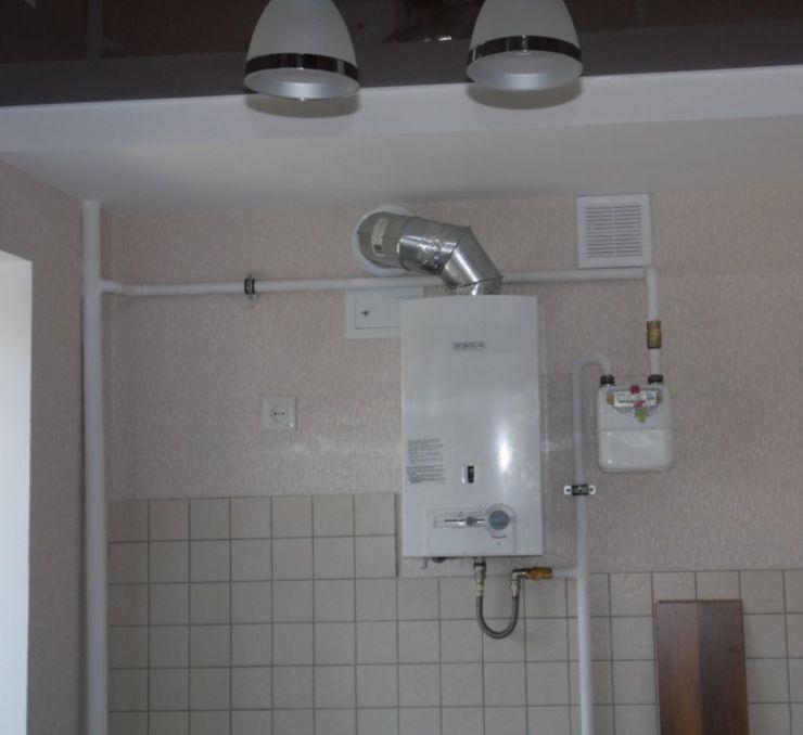 Подключение и установка газовой колонки