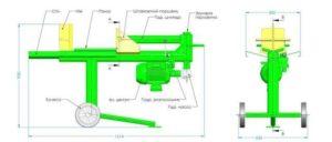 Как сделать механический дровокол своими руками?