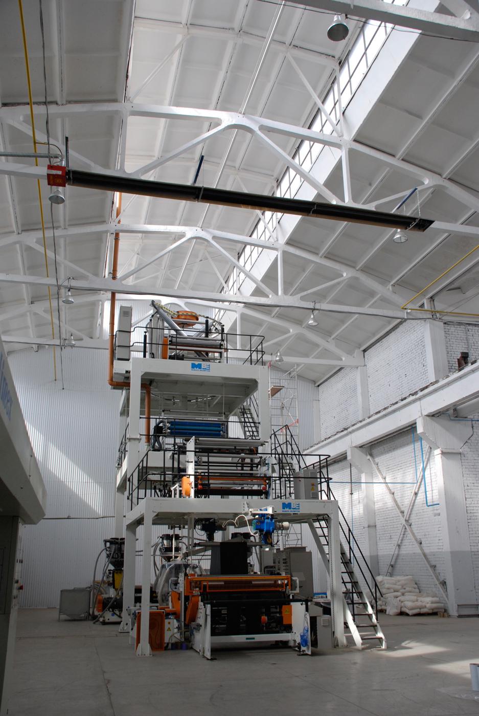 Воздушное отопление складских помещений от компании «фрамосс»