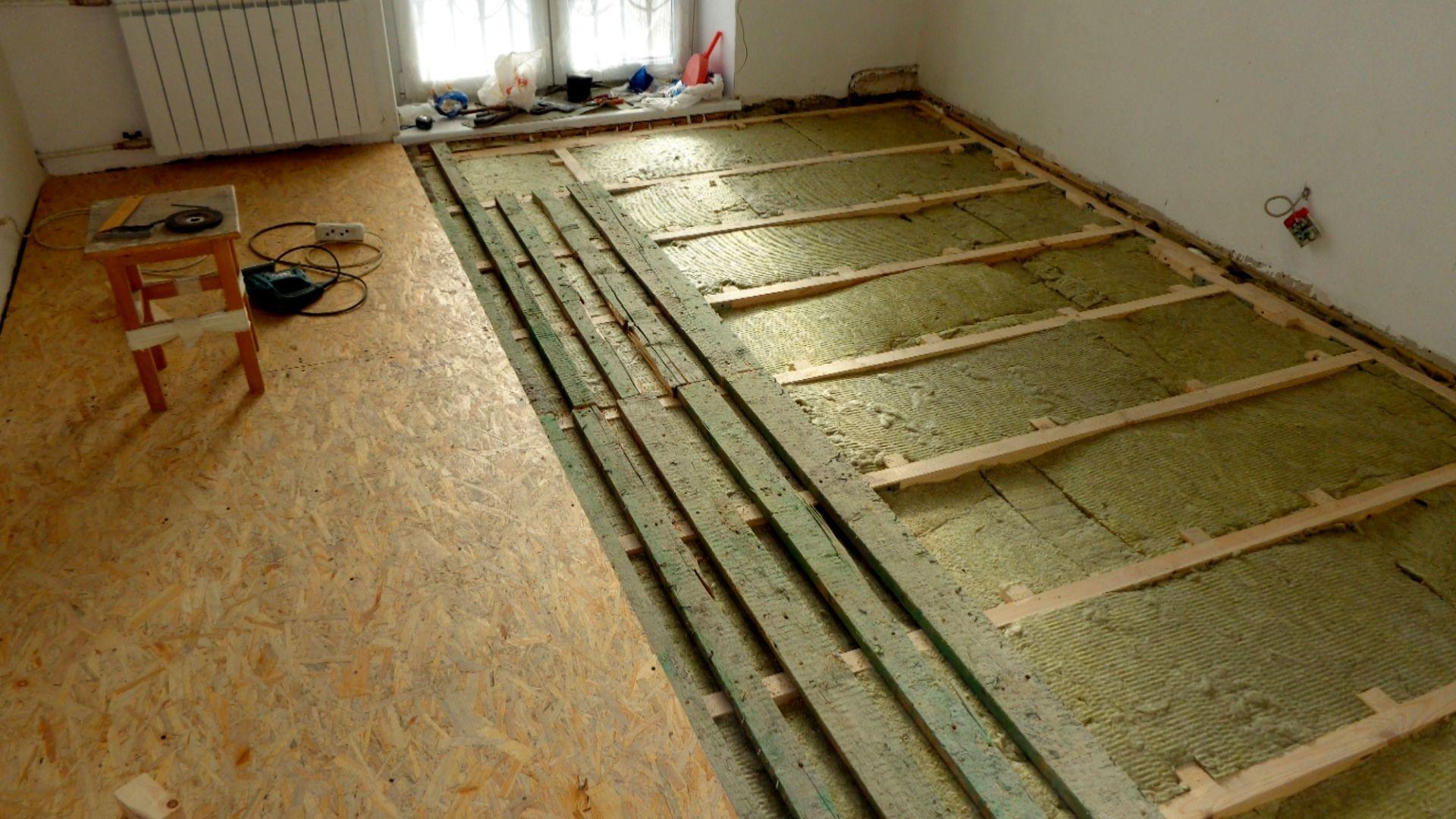 Как утеплить пол в квартире: технологии и материалы