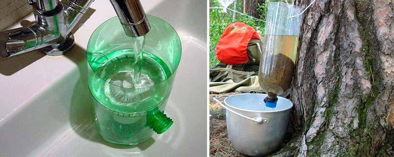 Фильтр для очистки воды своими руками