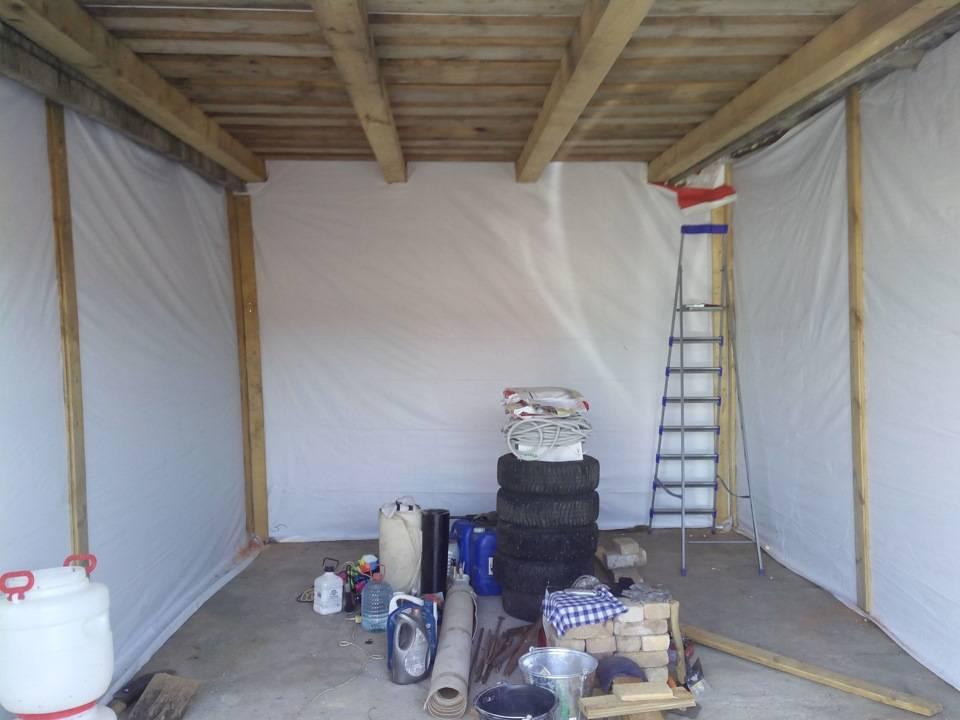 Как самостоятельно подготовить гараж к зиме