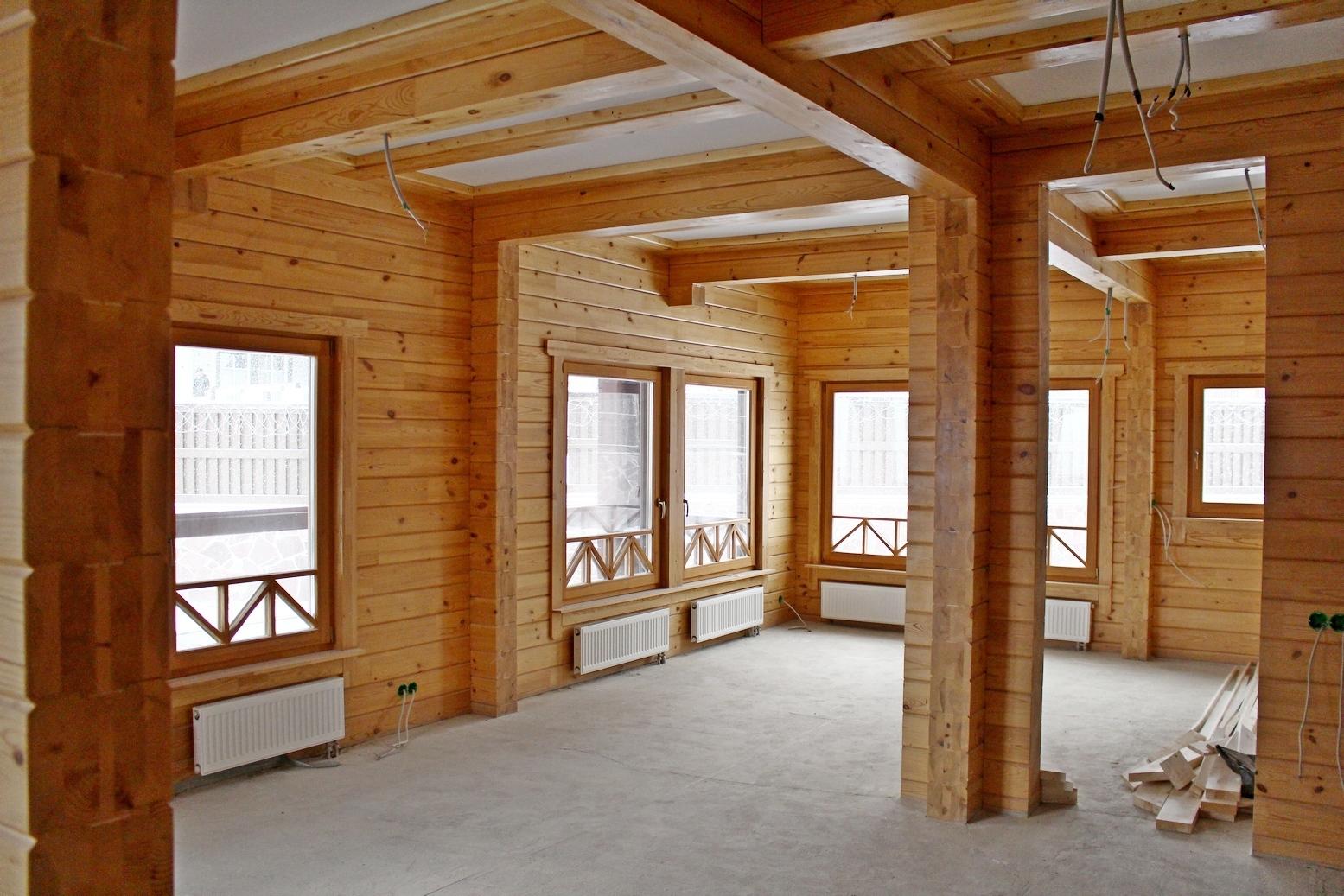Низкие цены и стоимость работ отделки деревянных домов в москве