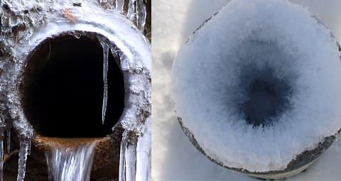 Как разморозить воду в трубе под землей - все о канализации