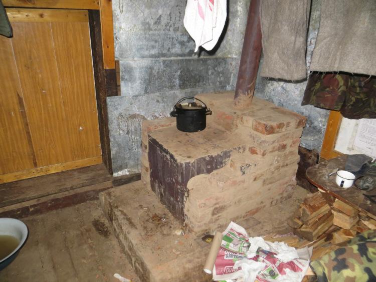 Как обложить печь буржуйку кирпичом