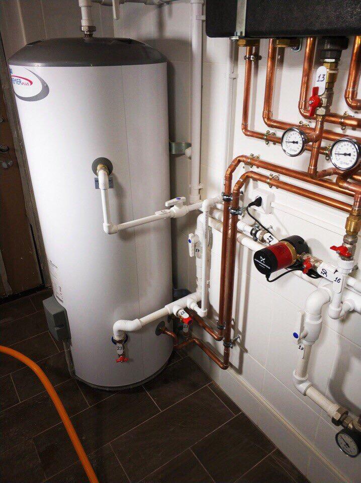 Бойлер для отопления частного дома: схемы, расчеты, подключение