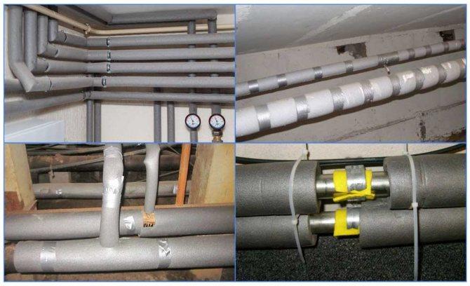 Теплоизоляция для труб цена и характеристики материала