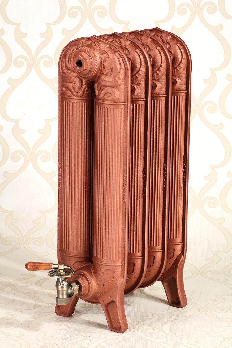 Радиаторы отопления из чугуна в стиле ретро