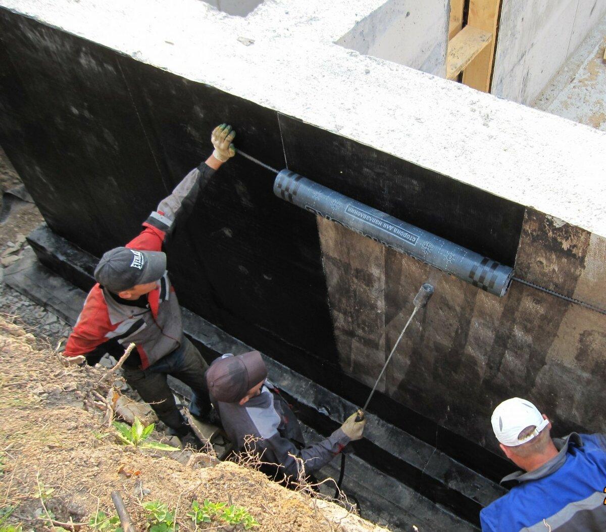 Гидроизоляция пола подвала: способы и технология гидроизоляции в подвале дома