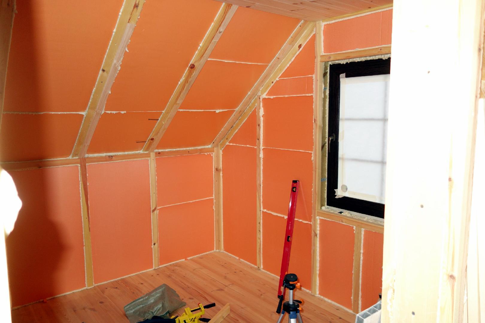Утепление пенопластом внутри помещения: 100% верная технология