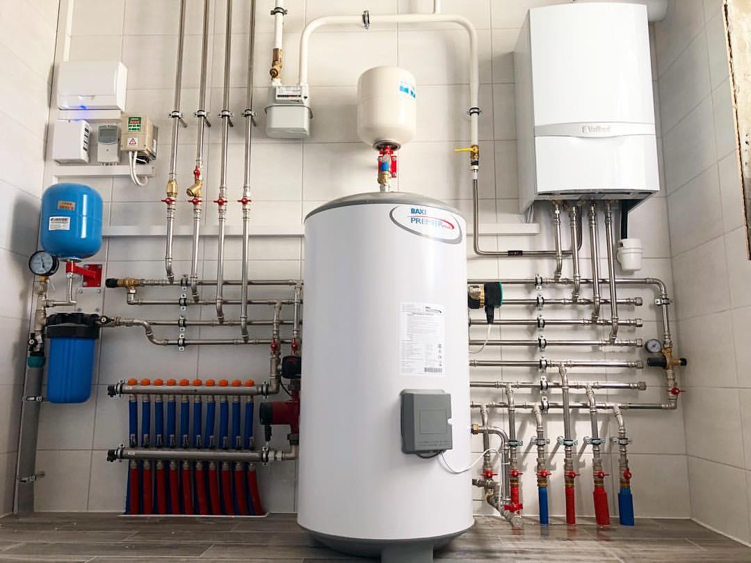 Газовое отопление частного дома: магистральный, баллонный газ