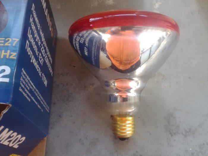 Инфракрасные тепловые лампы для обогрева дома и жилых помещений
