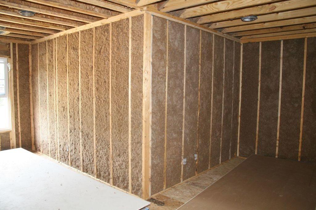 Как обшить и утеплить стены и потолок гипсокартоном самостоятельно