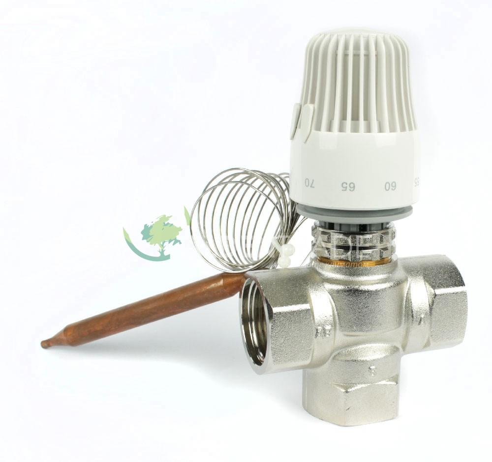 Термоклапан для теплого водяного пола - лучшее отопление