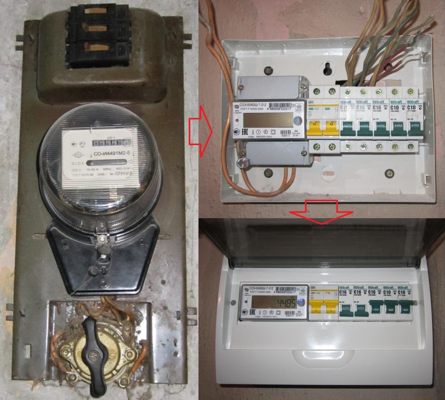 Установка счетчика электроэнергии – правила монтажа и стоимость услуг