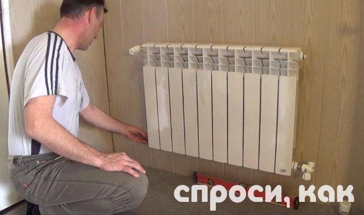 Регулировка батарей отопления в квартире - как отрегулировать температуру