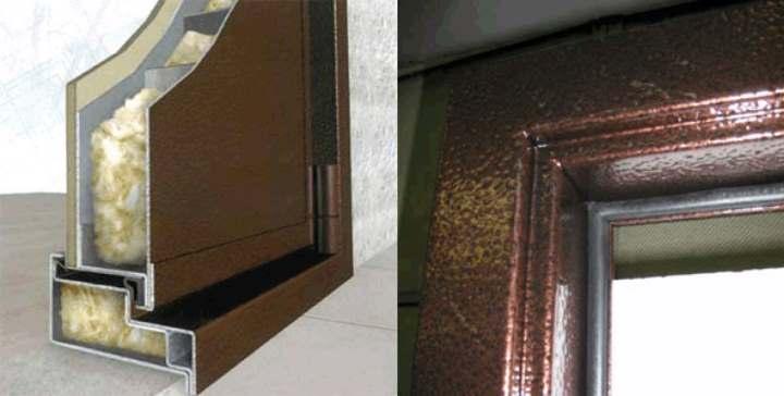 Как утеплить железную дверь: входная изнутри