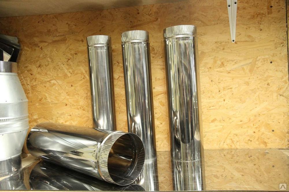 Оцинкованная труба для дымохода: особенности сборки, обслуживание и утепление дымоходной трубы