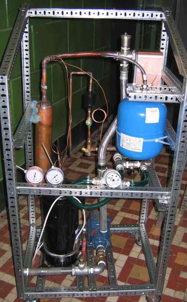 Тепловой насос своими руками для отопления дома: конструкция и принцип работы устройства