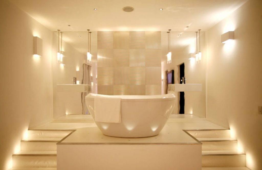 Освещение в ванной комнате: идеальные решения своими руками | 1posvetu.ru